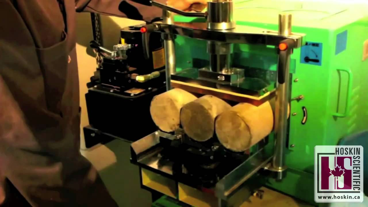 Hoskin Concrete Cylinder End Grinder C617 Youtube