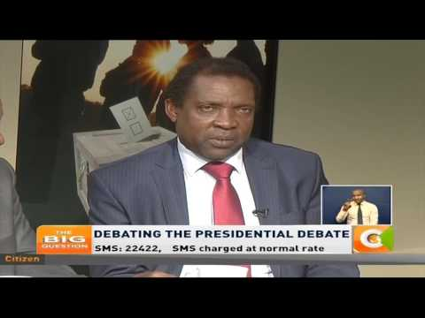 The Big Question: Debating the Presidential Debate #TheBigQuestion