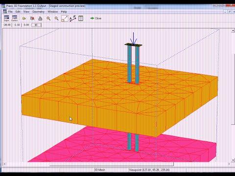 Plaxis 3D Foundation-Group Borepile