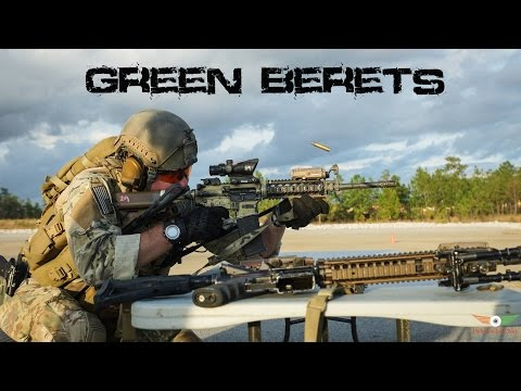 U.S Army Special Forces Green Berets   WE OWN THE NIGHT  