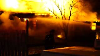 WHITEHOUSE NEW JERSEY WORKING BARN FIRE 2/1/19 HUNTERDON COUNTY FIRE RESPONSE