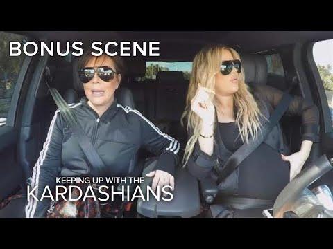 KUWTK | Kris Jenner Criticizes Khloe Kardashian's Driving Habits | E!