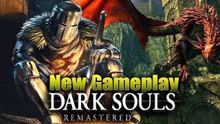 Dark Souls Remastered: NEW Gameplay On PS4! + New Info On PvP & PvE Changes
