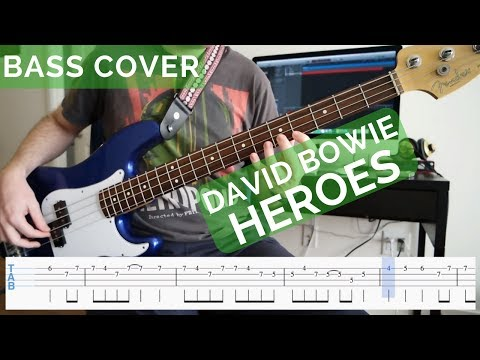 David Bowie - Heroes Bass Cover
