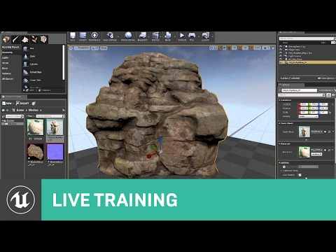 Intro for Artists | Live Training | Unreal Engine