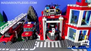 LEGO City Dock Side Fire Boat 60213