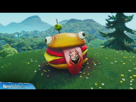 Visit Drift Painted Durrr Burger Head, Dinosaur And Stone Head Statue - Fortnite (Road Trip Mission)