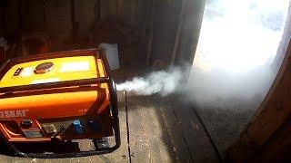 Ремонт бензогенератора своими руками (видео)