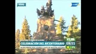 También en Mendoza comienzan los festejos del Bicentenario.