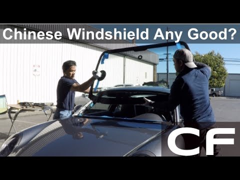 Chinese Windshield Review on My Porsche 911 / 997 (Fuyao)