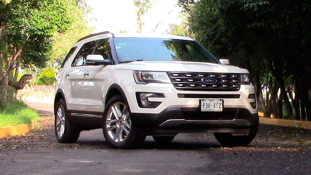 Ford Explorer 2016 a prueba | Autocosmos - YouTube