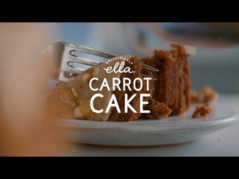 Carrot Cake | Deliciously Ella | Vegan | Gluten Free