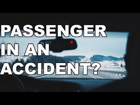 I was a Passenger in a Car Accident. What are my Rights? | Riverside Auto Accident Attorney