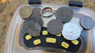 СЕРЕБРО!!! СТАРЫЕ МОНЕТЫ. ПОИСК ЗОЛОТА НА ПЛЯЖЕ FINDING GOLD ON THE BEACH. SILVER. COINS