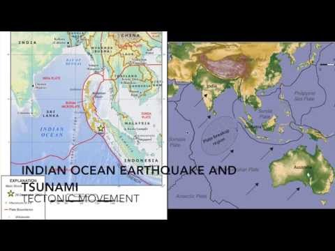 Indian Ocean Earthquake and Tsunami - Tectonic Movement