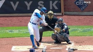 MIL@NYM: Mets strike early on Granderson's solo homer