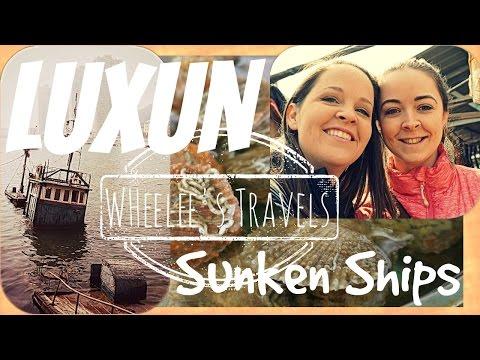 Luxun's Sunken Ships | Dalian, China | Wheelee's Travels