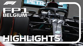2020 Belgian Grand Prix: FP1 Highlights