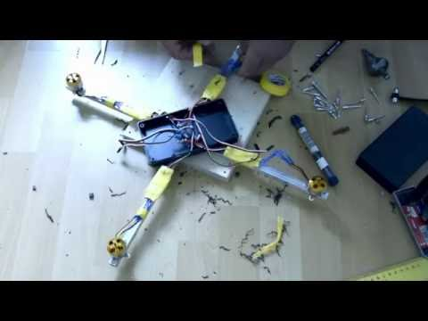 How to make a drone in 3 hours, ready to fly! Part.1