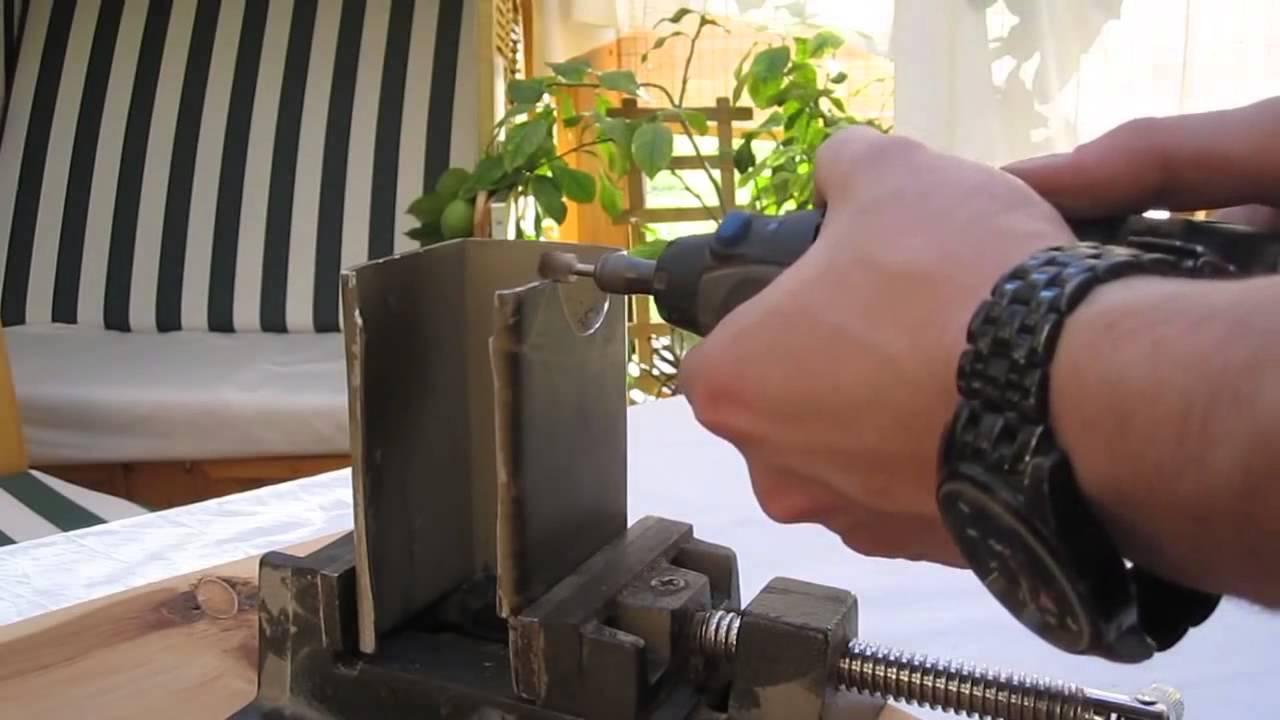 Cara membuat mounting kamera senapan