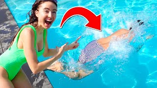 Teaching Typical Gamer How To SWIM Challenge!