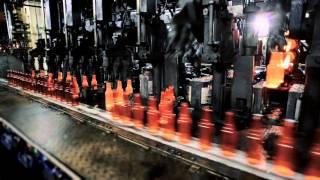 Produção de vidro de embalagem Como são feitas as embalagens de vid...