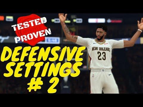 NBA 2K19 Defensive Settings #2 : Help Defense Fixed! Off Ball Pressure & Help Rules [Coach Tutorial]
