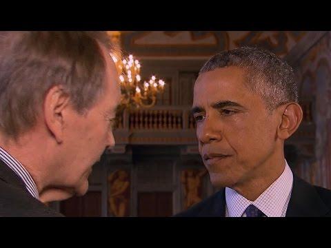 President Obama on U.S. troops in Syria, European unity