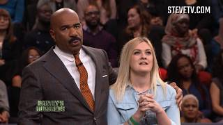 Audience Member Nearly Breaks Steve Harvey's Finger