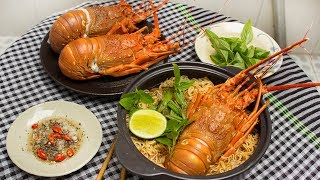FIRST TIME I EAT GIANT LOBSTER WITH NOODLE - CKK
