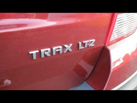 Probando la Chevrolet Trax LTZ 2013