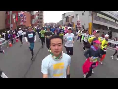 Kyoto marathon 2015 京都馬拉松過程全紀錄