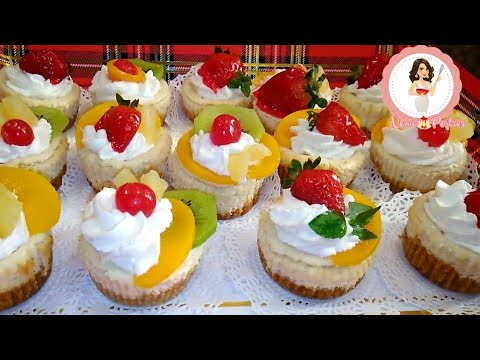 Mini cheesecakes perfectos f ciles para mesa de postres youtube - Individuales para mesa ...