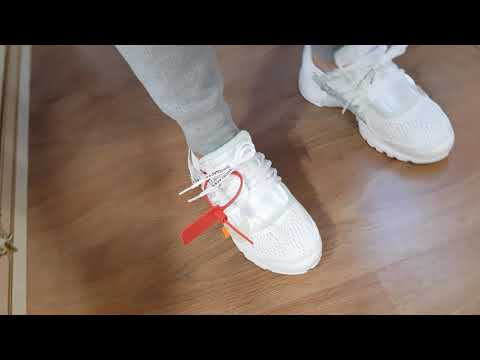David's Off White Presto on foot