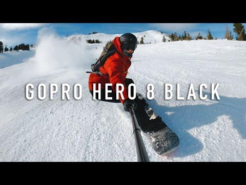 Testing Out The GoPro Hero 8 Black   Tahoe Snowboarding