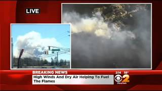 Forest Fire Breaks Out In Beachwood, Ocean County, NJ
