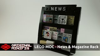 Lego Creation - News And Magazine Rack