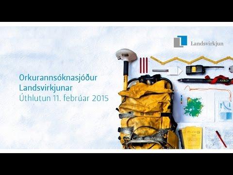 Orkurannsóknasjóður Landsvirkjunar - úthlutun 2015.