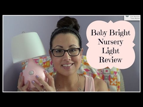 Baby Bright Nursery Light Review /GIVEAWAY ENDED