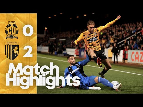 Cambridge Utd Gillingham Goals And Highlights