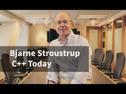 Bjarne Stroustrup: C++ Today