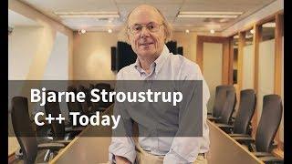 Bjarne Stroustrup: C++ Today
