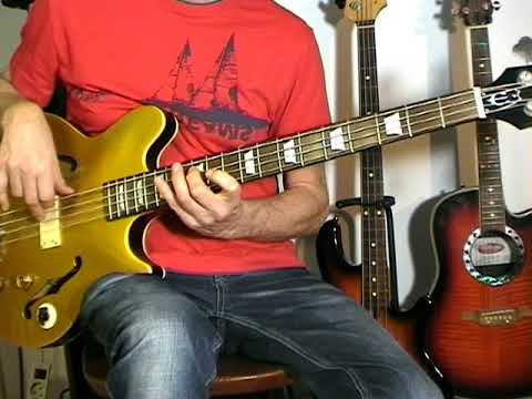 The Lovin' Spoonful - Rain On The Roof - Bass Cover