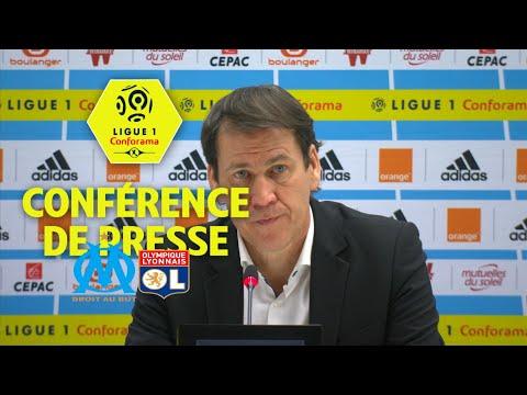 Conférence de presse Olympique de Marseille - Olympique Lyonnais (2-3) / 2017-18