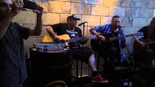 "Rumble Militia - ""No Nazis"" accoustic live in Istanbul 2015"