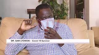 Dr Sam Lyomoki recounts his experience with COVID-19