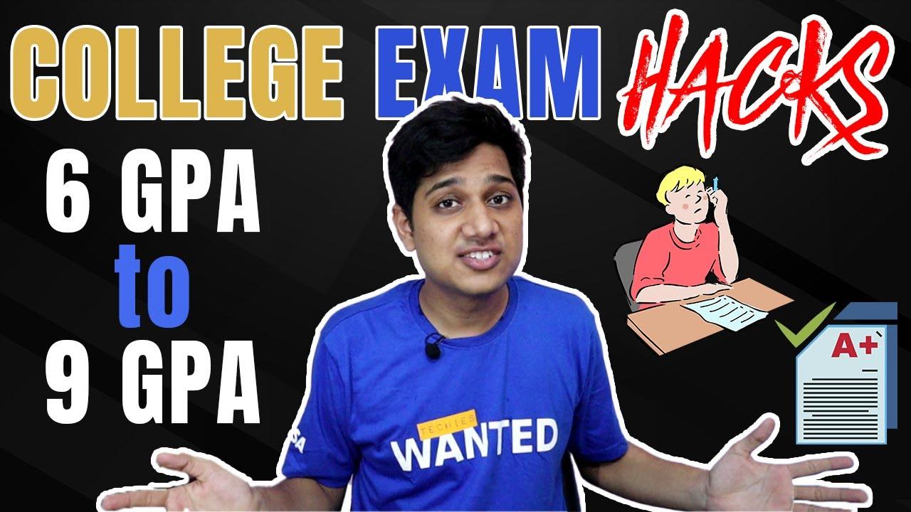 6 GPA to 9 GPA | College Exam Tips & Tricks | Hacks for Marks | Internals MOOC Practicals