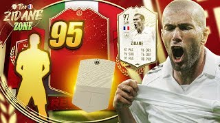 SERIE A TOTS REWARDS & ICON SWAP PLAYER! (ZIDANE ZONE)