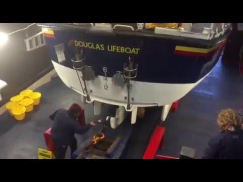 Isle of Man Douglas lifeboat lunch