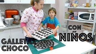 Como hacer galletas de chocolate con niños [CON NIÑOS] - RECETA